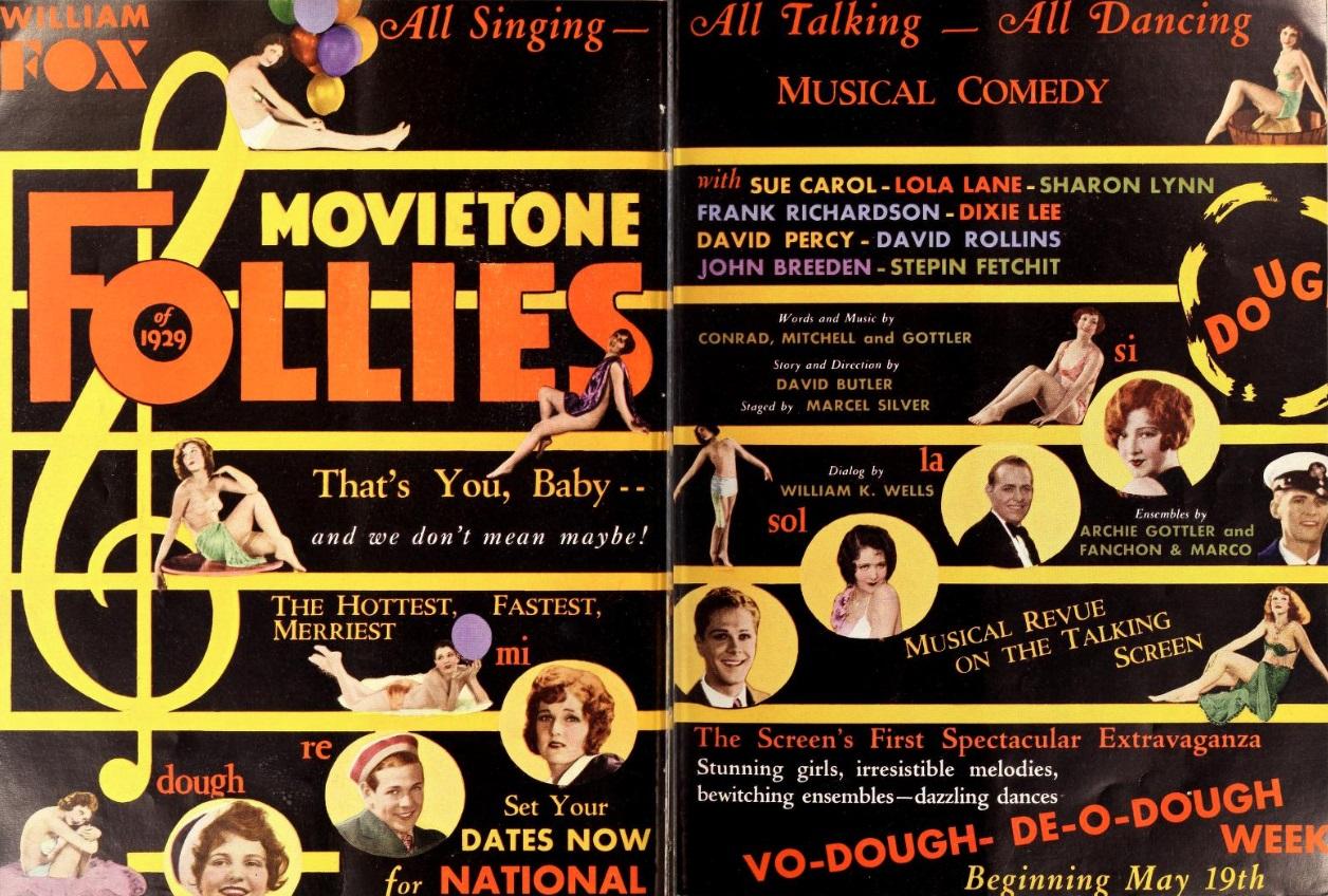 3a97d8b96fba2e Fox Movietone Follies of 1929 (1929)