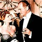 Eva Bartok and Curd Jürgens in Orient Express (1954)