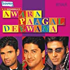 Aftab Shivdasani, Akshay Kumar, Johny Lever, Paresh Rawal, and Suniel Shetty in Awara Paagal Deewana (2002)
