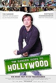 Tim Sander goes to Hollywood Poster