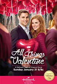 Sam Page and Sarah Rafferty in All Things Valentine (2016)