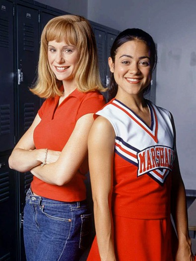 Susan Egan and Camille Guaty in Gotta Kick It Up! (2002)