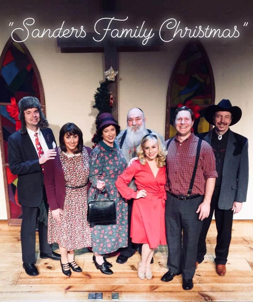 "2018 Cast of ""Sanders Family Christmas"" - Branson, MO"