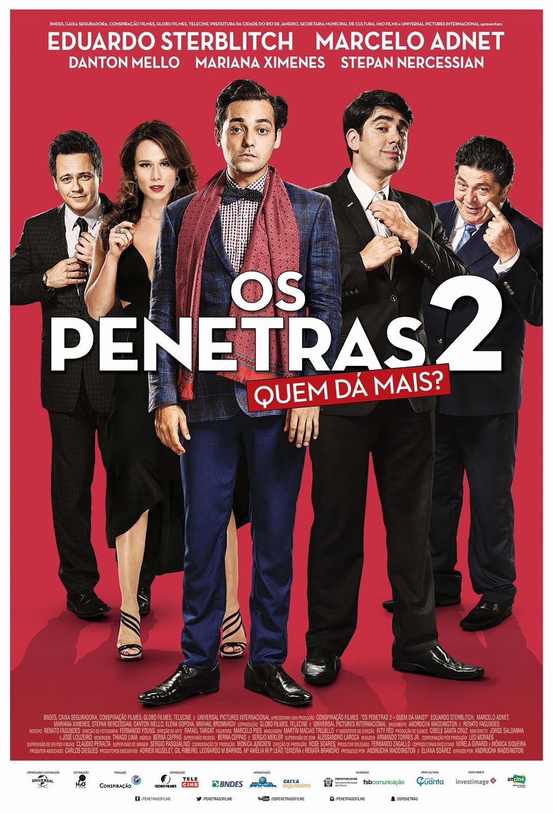 Os Penetras 2: Quem Dá Mais? [Nac] – IMDB 4.4