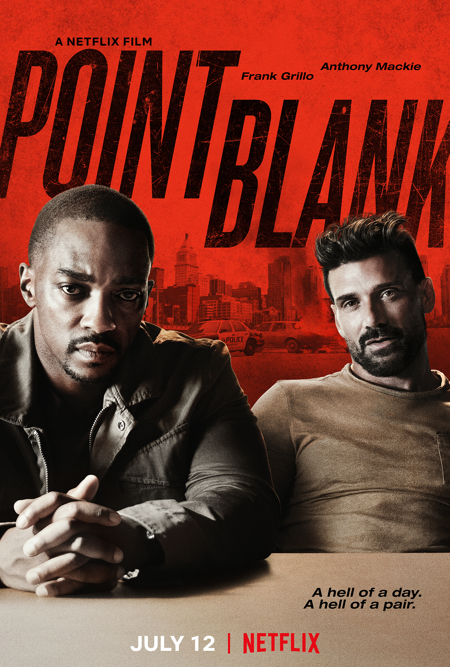 TAIKLUS ŠŪVIS (2019) / POINT BLANK
