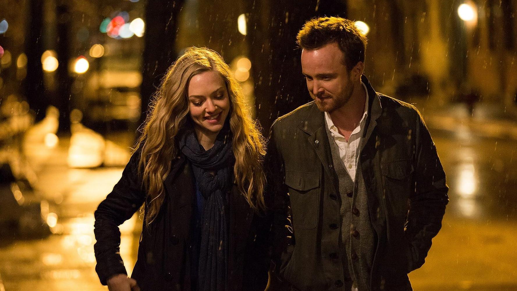 Aaron Paul dan Amanda Seyfried dalam Fathers & Daughters (2015)