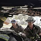 Jesse Spencer and Taylor Kinney in Chicago Fire (2012)