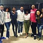 Anthony Anderson, Emayatzy Corinealdi, Uzo Aduba, Ariana Burks, Ashley Jackson, Khalil Everage, and Evan J. Simpson in Beats (2019)