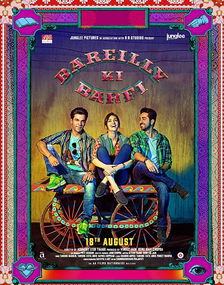 Bareilly Ki Barfi 2017 Hindi Movie 350MB BluRay ESub Download
