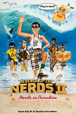 Movie Revenge of the Nerds II: Nerds in Paradise (1987)