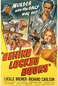 Lucille Bremer, Richard Carlson, and Tor Johnson in Behind Locked Doors (1948)