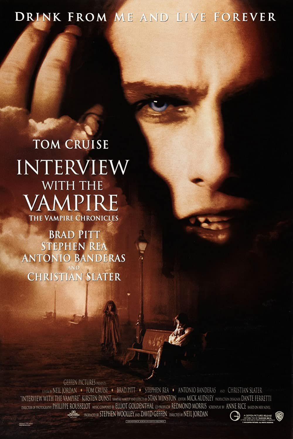 18+ Interview with the Vampire The Vampire Chronicles 1994 English 720p BluRay ESubs 800MB Download