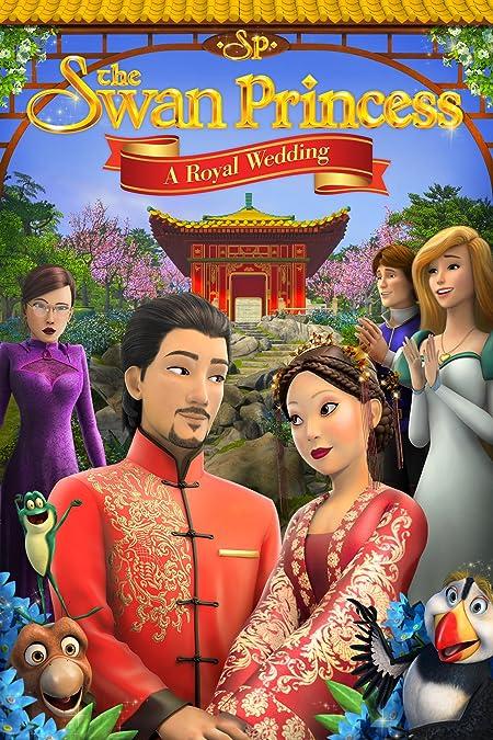 The Swan Princess: A Royal Wedding (2020) English WEB-DL - 480P | 720P - x264 - 200MB | 800MB - Download & Watch Online  Movie Poster - mlsbd