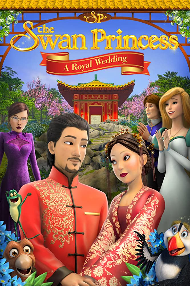 The Swan Princess: A Royal Wedding 2020 English 250MB HDRip
