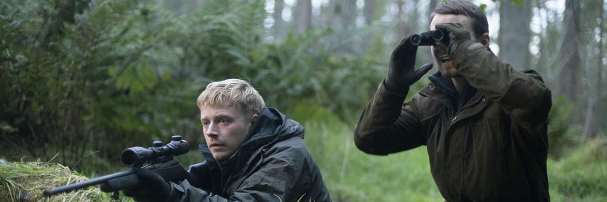 Martin McCann and Jack Lowden in Calibre (2018)