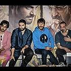 Sanjay Dutt, Chunky Panday, Ali Fazal, and Satyajeet Dubey in Prassthanam (2019)
