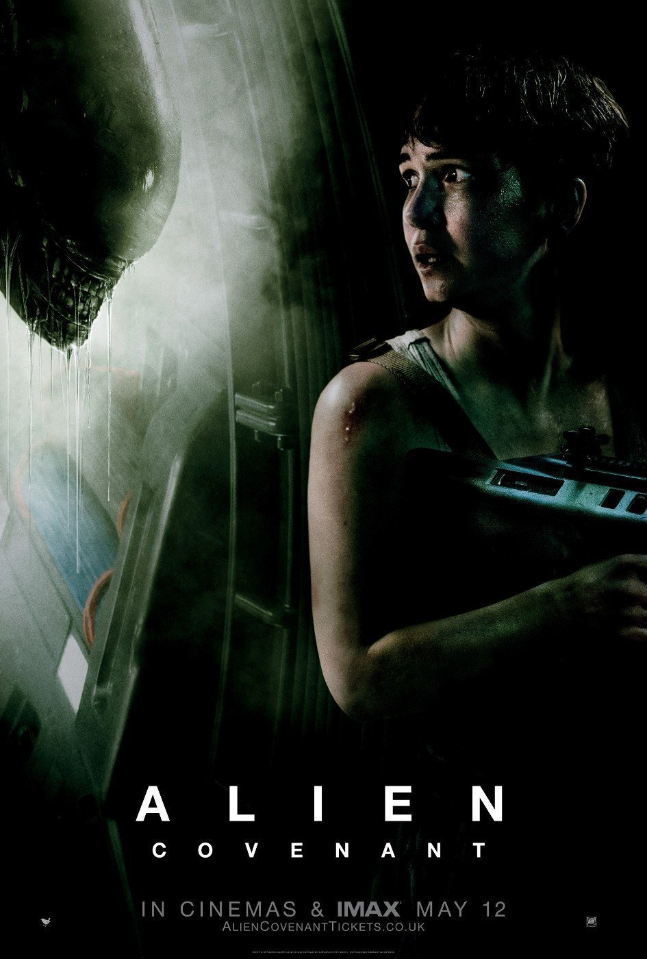 Alien Covenant 2017 Hindi Dual Audio 455MB BluRay ESubs Download
