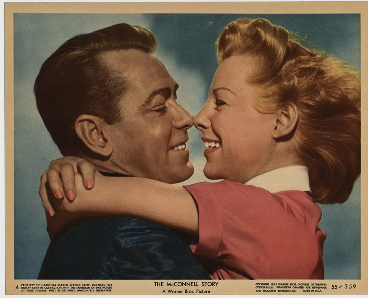 Image result for images of june allyson from 1955 s the mcconnell story