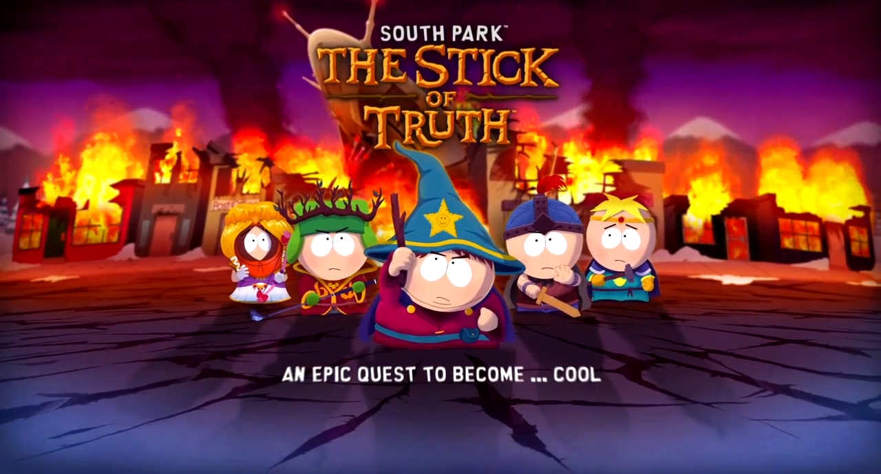 South Park The stick of truth rpg game for PC