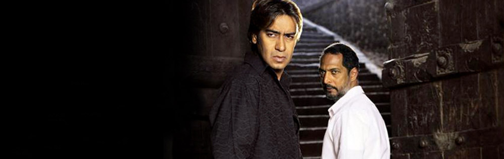 Nana Patekar and Ajay Devgn in Apaharan (2005)