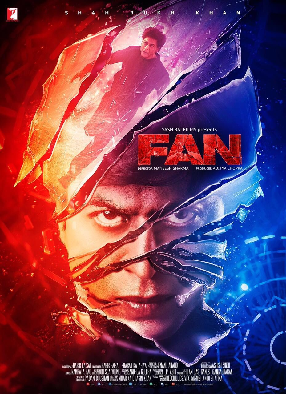 Fan 2016 Hindi Full Movie Download MSubs