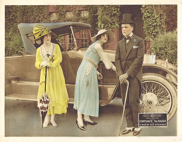 Constance Talmadge in A Pair of Silk Stockings (1918)