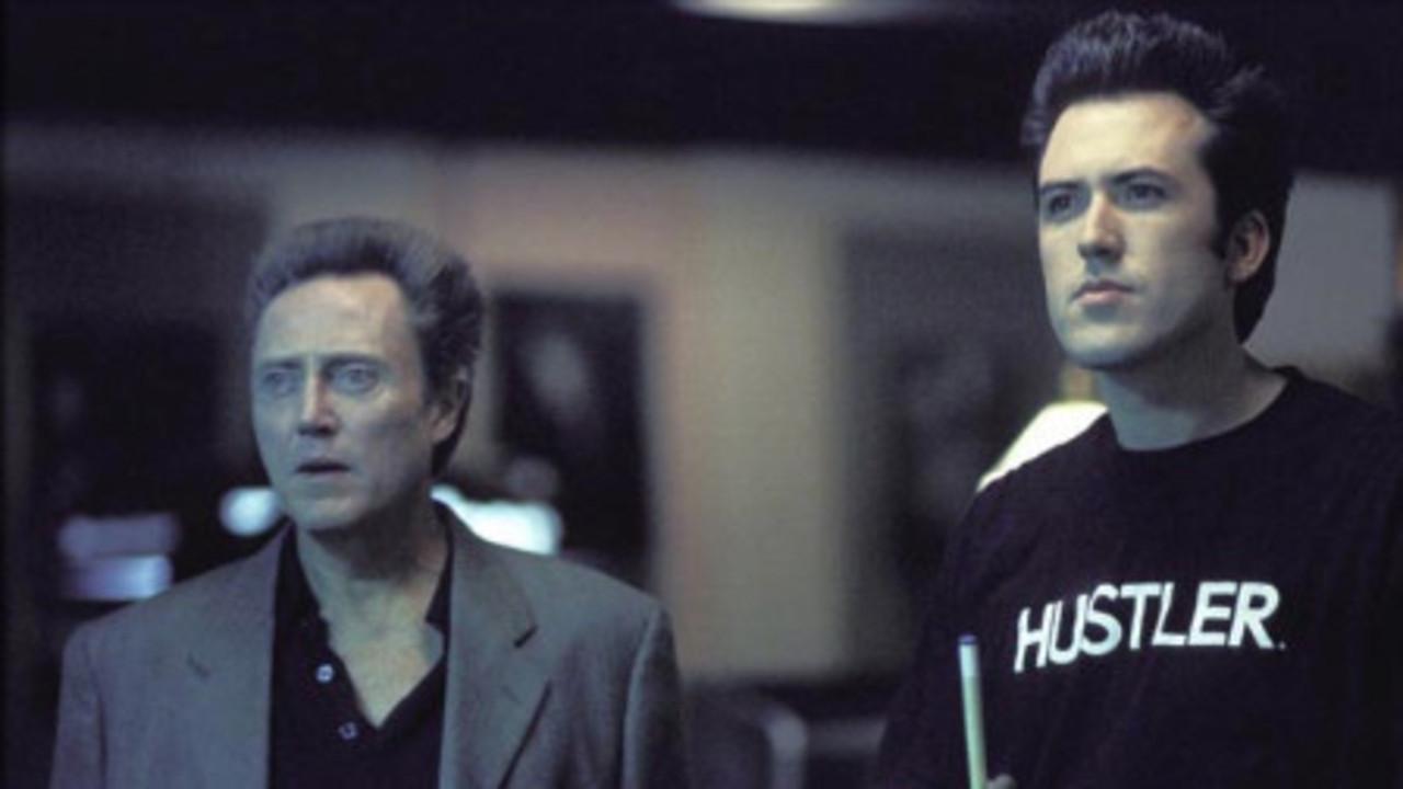 Christopher Walken and Mars Callahan in Poolhall Junkies (2002)