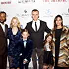 Callum Blue, Erik LaRay Harvey, Nadine Velazquez, Makenzie Moss, Danielle Lauder, and Alden Tab at an event for The Charnel House (2016)