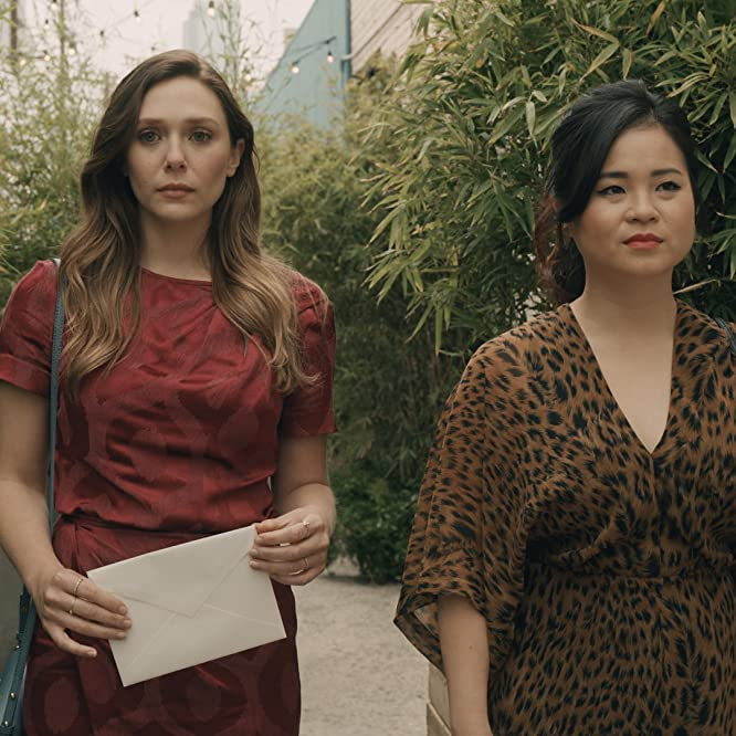 Elizabeth Olsen and Kelly Marie Tran in Sorry for Your Loss (2018)