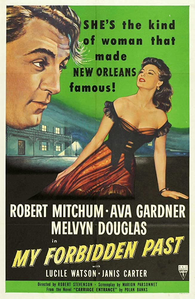 Robert Mitchum and Ava Gardner in My Forbidden Past (1951)