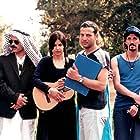 Rozina Cambos, Rami Heuberger, Dror Shaul, Einat Weitzman, Danielle Miller, and Pablo Salzman in Mivtza Savta (1999)