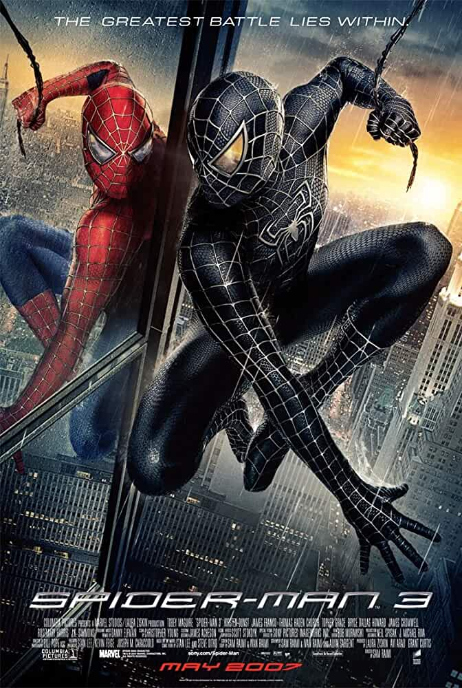 Spider-Man 3 – 2007 Movie BluRay Dual Audio Hindi Eng 400mb 480p 1.4GB 720p 5GB 10GB 1080p