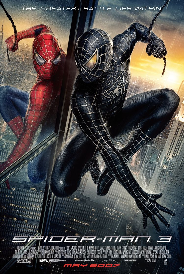 Spider-Man 3 (2007) BluRay 480p, 720p & 1080p