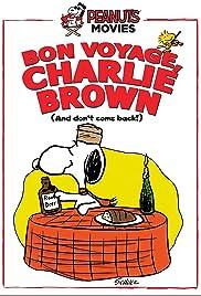 Bon Voyage Charlie Brown Poster