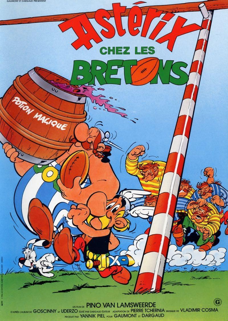Asterix in Britain (1986) Hindi Dubbed