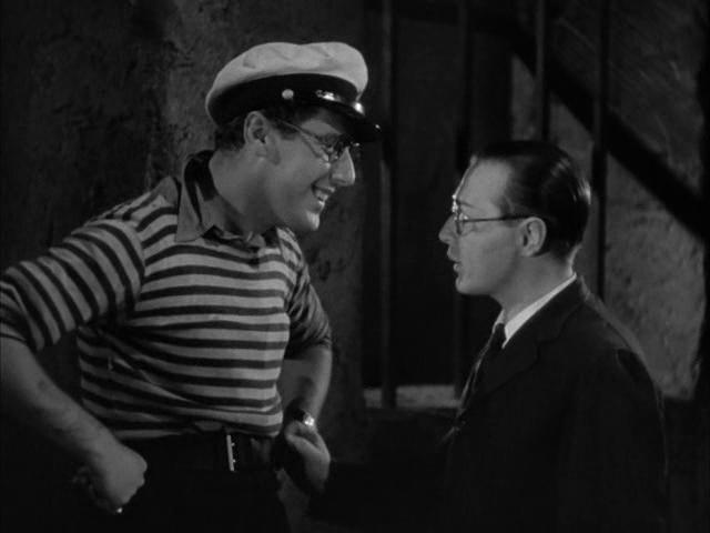 Peter Lorre and Robert Coote in Mr. Moto's Last Warning (1939)