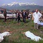 Roy Scheider and Kristen Cloke in The Rage (1997)