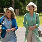 Noni Hazlehurst and Harriet Walter in The End (2020)