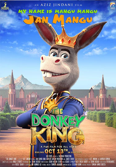 The Donkey King (2018) Hindi Dubbed 300MB Pre-DVDRip 480p x264
