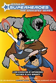 Jetpulse Superheroes: The Animated Series Poster
