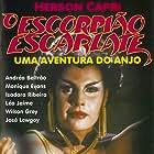 Herson Capri and Monique Evans in O Escorpião Escarlate (1990)