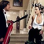 Gérard Depardieu and Eva Grimaldi in Les anges gardiens (1995)