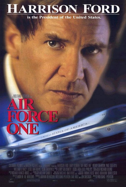 Air Force One 1997 Hindi Dual Audio 450MB BluRay ESubs