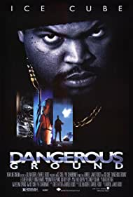 Elizabeth Hurley and Ice Cube in Dangerous Ground (1997)