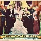 Edgar Norton and Sylvia Sidney in Thirty Day Princess (1934)
