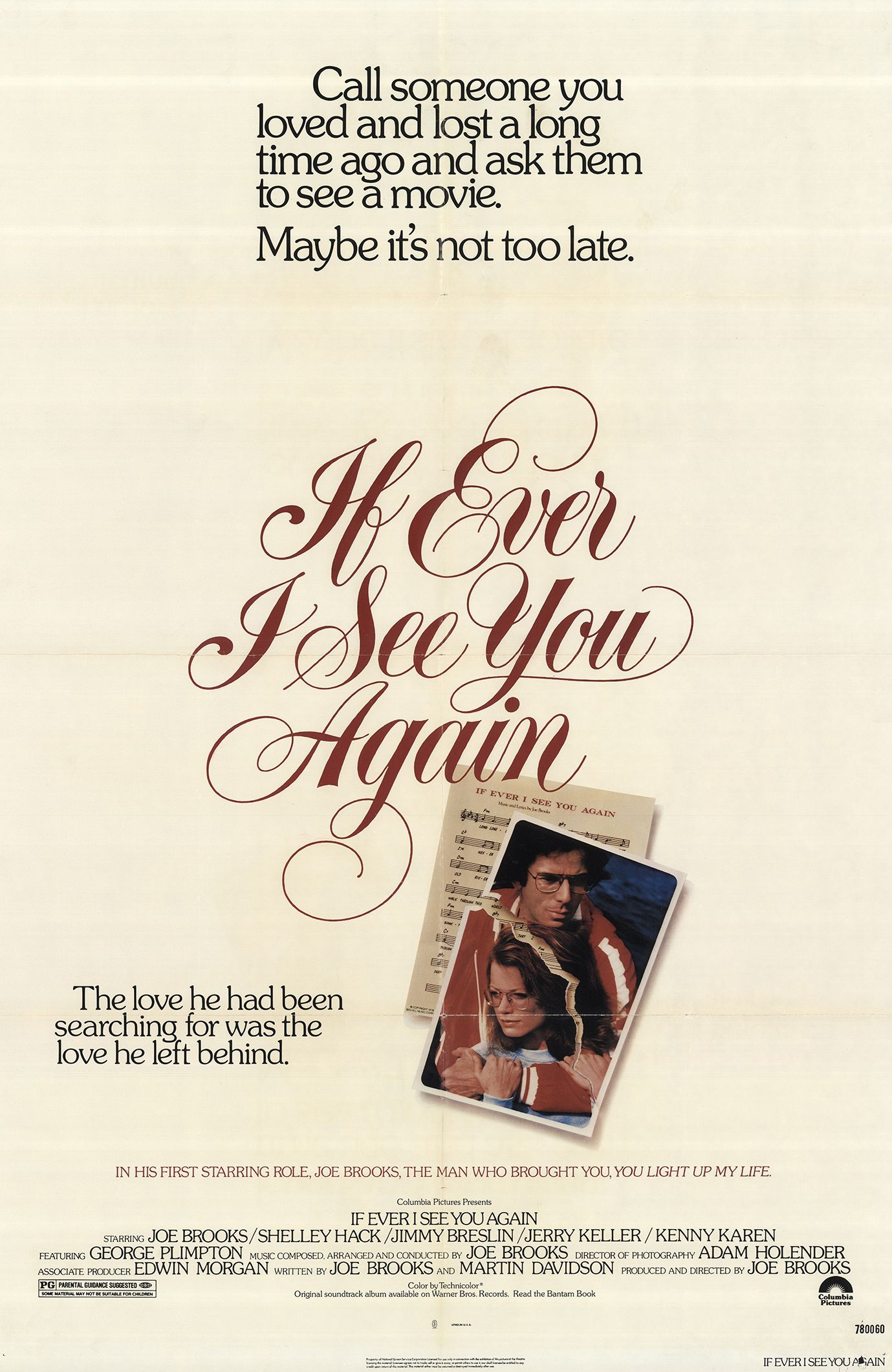 If Ever I See You Again (1978) - IMDb