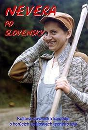Nevera po slovensky Poster