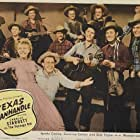 Spade Cooley, Carolina Cotton, Earl Murphey, Smokey Rogers, Deuce Spriggins, Dub Taylor, Tex Williams, Johnny Weis, Spade Cooley Band, Frank Buckley, Gibby Gibson, 'Muddy' Berry, Dean Eacker, and 'Spike' Featherstone in Texas Panhandle (1945)
