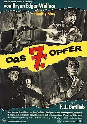 Edgar Wallace - Das 7. Opfer (1964) • 5. August 2021