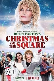 Dolly Parton, Treat Williams, Christine Baranski, Jenifer Lewis, Matthew Johnson, Mary Lane Haskell, Josh Segarra, Jeanine Mason, and Selah Kimbro Jones in Christmas on the Square (2020)